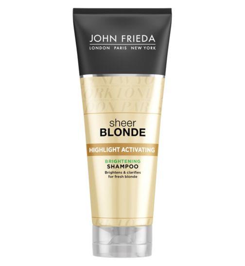 John Frieda Sheer Blonde Brightening Shampoo 250ml