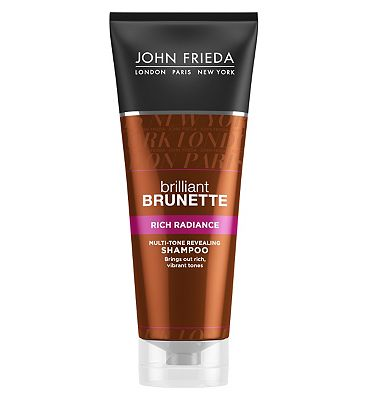 John Frieda Brilliant Brunette Rich Radiance Multi-Tone Revealing Shampoo 250ml