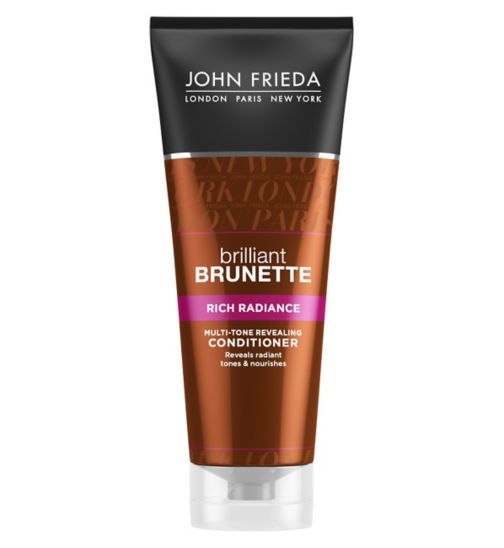 John Frieda Brilliant Brunette Rich Radiance Multi-Tone Revealing Conditioner 250ml