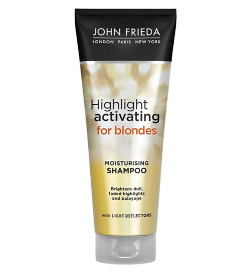 John Frieda Sheer Blonde Highlight Activating Moisturising Shampoo 250ml