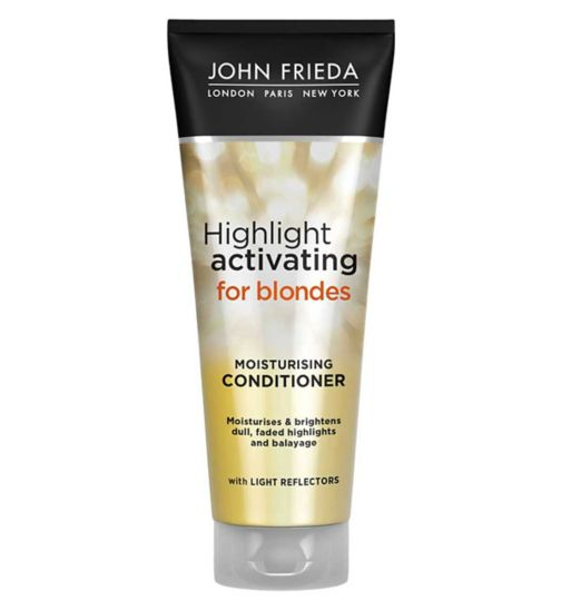 John Frieda Sheer Blonde Highlight Activating Moisturising Conditioner 250ml