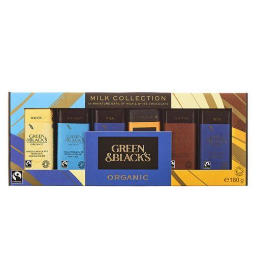 Green & Black's Milk Collection 180g