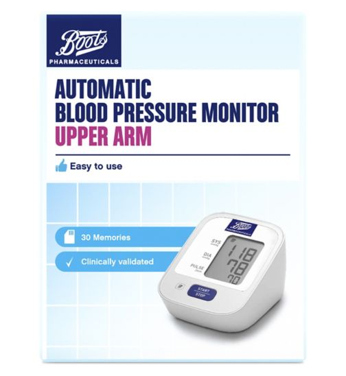 Boots Pharmaceuticals Blood Pressure Monitor - Upper Arm Unit