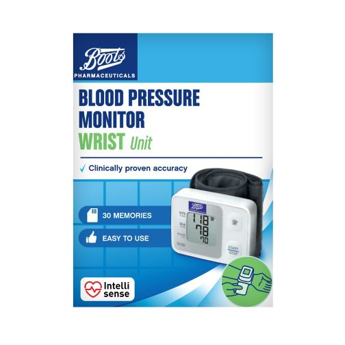 Boots Blood Pressure Monitor - Wrist Unit