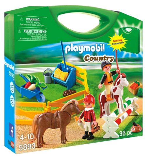 Playmobil Pony Farm Carry Case 5893