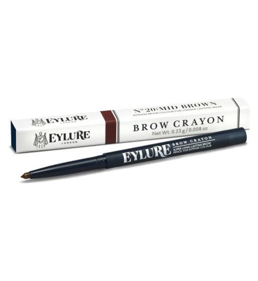 Eylure Brow Crayon Mid Brown 20