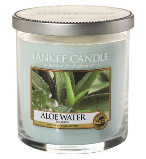 Yankee Candle Aloe Water Small Pillar Candle