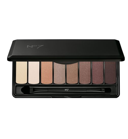 No7 Stay Perfect Eye Shadow Palette - Nude
