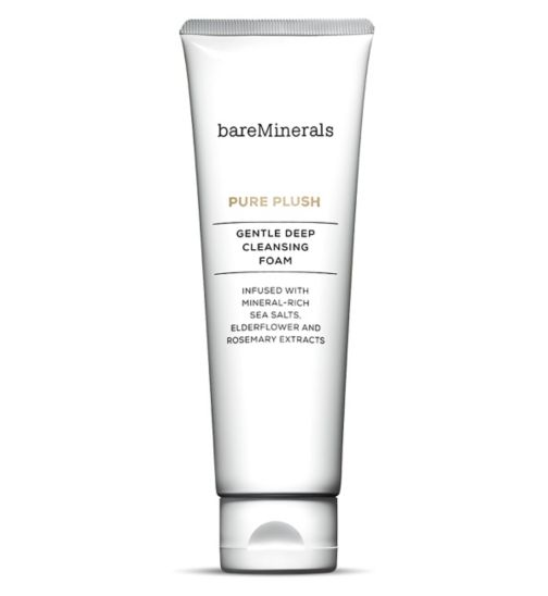 bareMinerals PURE PLUSH Gentle Deep Cleansing Foam 120ml