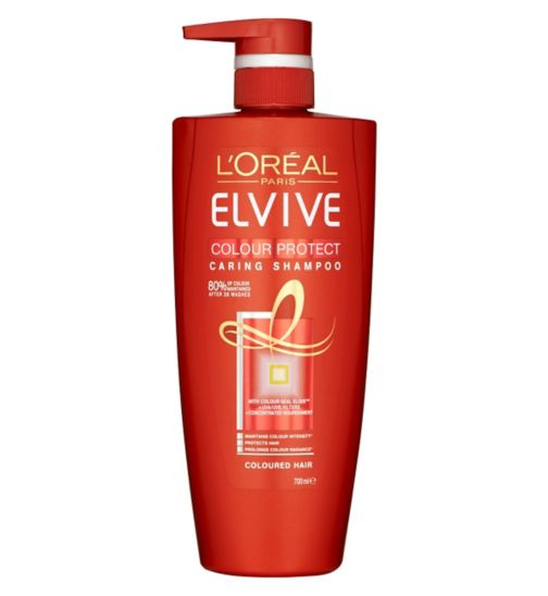L'Oreal Paris Elvive Colour Protect Shampoo 700ml Pump