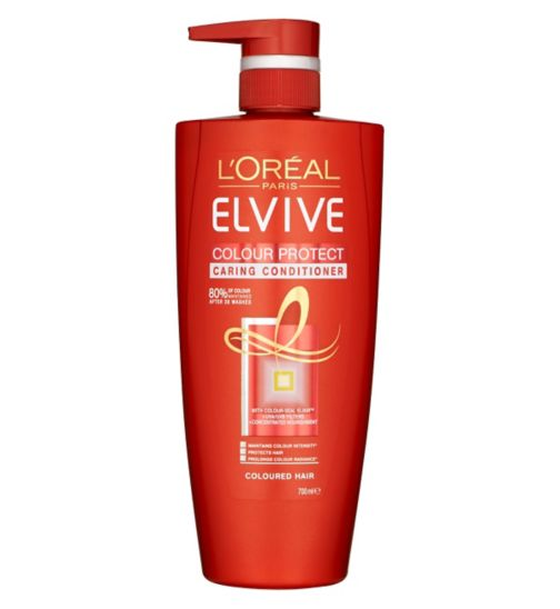 L'Oreal Paris Elvive Colour Protect Conditioner 700ml Pump