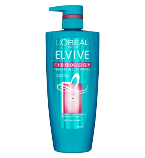 L'Oreal Paris Elvive Fibrology Shampoo 700ml Pump