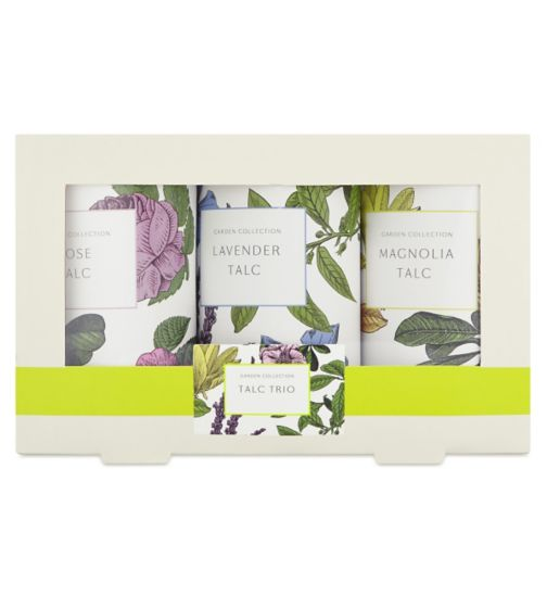 Garden Collection Talc Trio