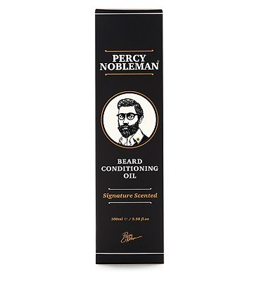Percy Nobleman Beard Conditioning Oil Scented 100ml