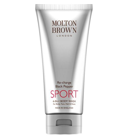 Molton Brown Re-Charge Black Pepper Sport 4 in 1 Body Wash 200ml