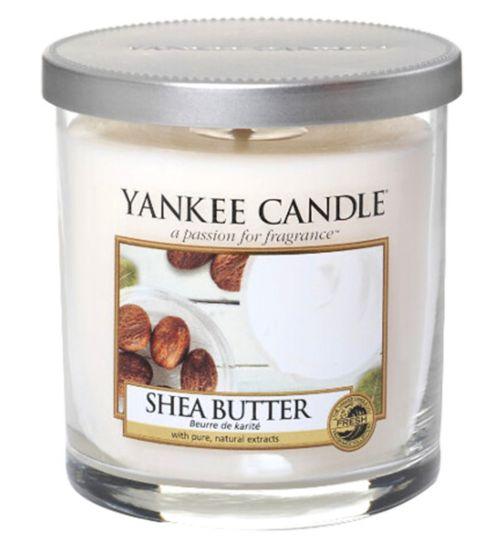 Yankee Candle Shea Butter Small Pillar Candle