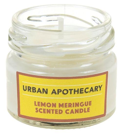 Urban Apothecary Lemon Meringue Mini Luxury Candle 20g