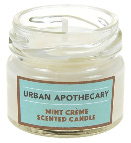 Urban Apothecary Mint Crème Mini Luxury Candle 20g