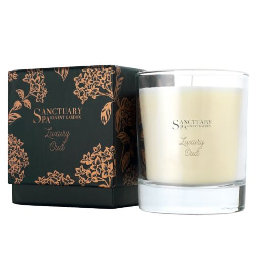 Sanctuary Spa Luxury Oud Candle