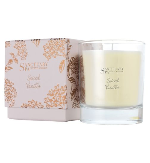 Sanctuary Spa Spiced Vanilla Candle