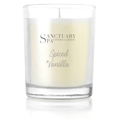 Sanctuary Spa Spiced Vanilla Votive Candle 60g