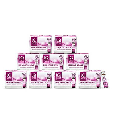 LQ Liquid Health Skin, Hair & Nails - 90 x 50ml Bottles