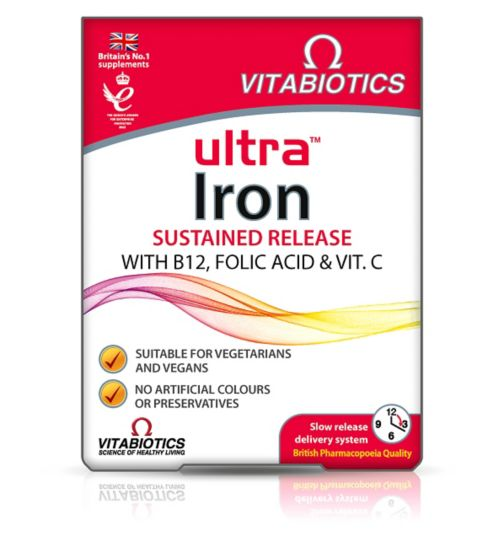 Ultra Iron - 30 tablets