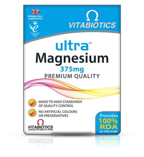 Vitabiotics Ultra Magnesium - 60 Tablets