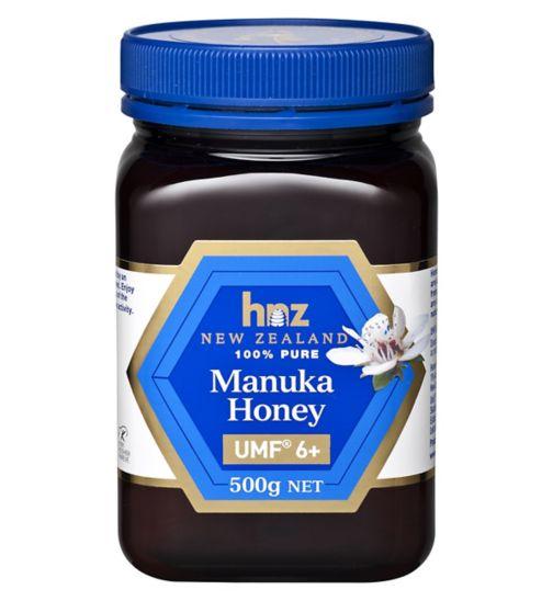 Honey NZ Pure Manuka Honey UMF 6+ 500g