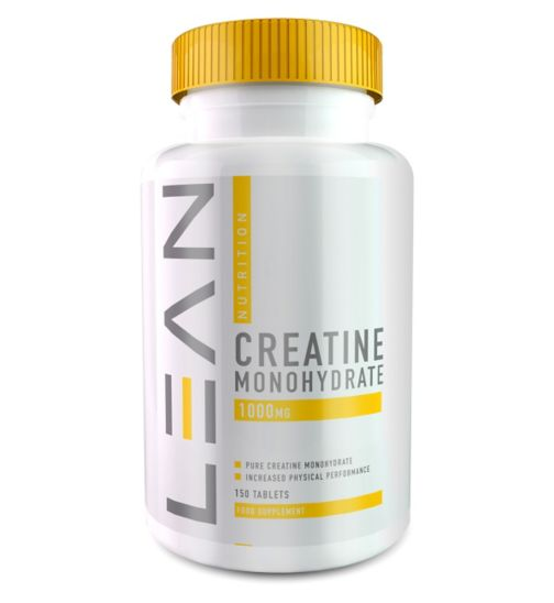 Lean Nutrition Creatine Monohydrate 1000mg x 150 tablets