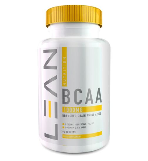 Lean Nutrition BCAA 1000mg x 90 Capsules