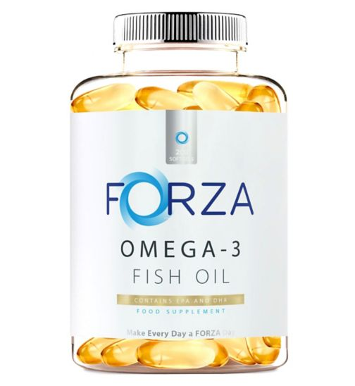 FORZA Omega-3 Fish Oil 200 Softgels