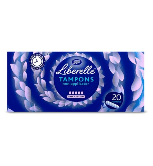 Boots Liberelle non applicator tampon super+ extra 20s