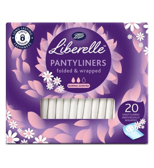 Boots Liberelle wrapped normal liner 20s