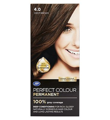 Image of Boots Perfect Colour 4.0 Deep Brown Hair Dye - Permanent