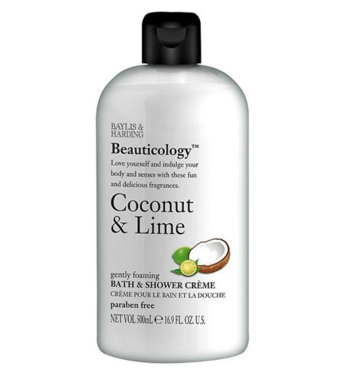 Baylis & Harding Beauticology Coconut & Lime Bath & Shower Crème 500ml
