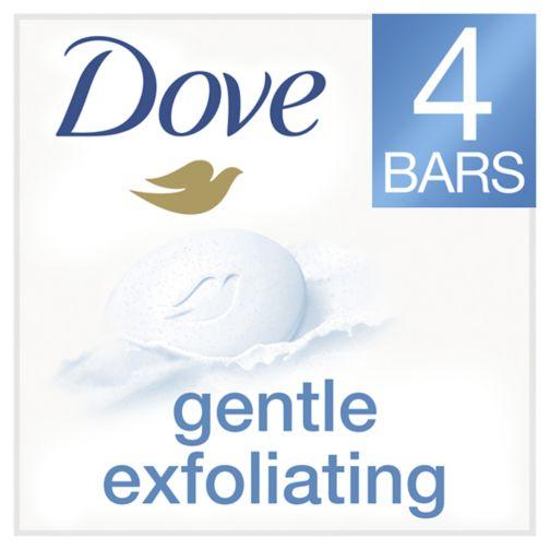 Dove Exfoliating Bar 4x100g