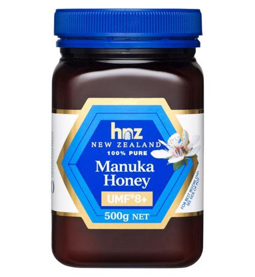 HNZ New Zealand 100% Pure Manuka Honey UMF 8+ 500g