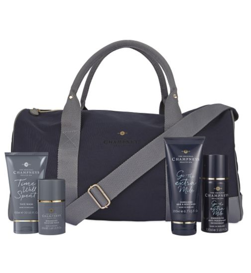 Champneys For Men Energising And Rewarding Weekender Bag