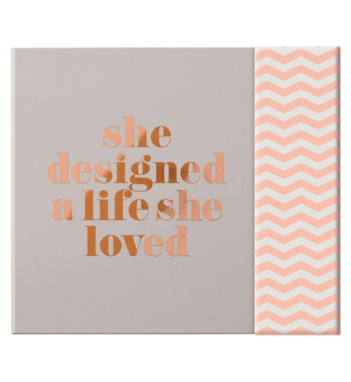 Zoella She Designed A Life She Loved Stationery Set