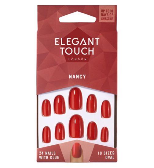 Elegant Touch Polish Nails - Nancy