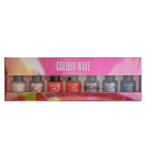 Seventeen Colour Wave Nail Collection