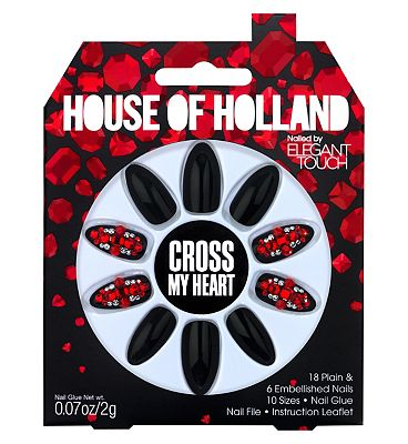 House of Holland Nails Party Collection Cross My Heart