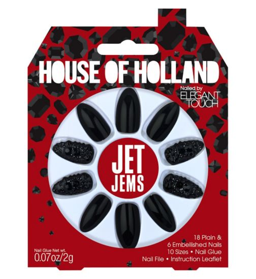House of Holland Nails Party Collection Jet Jems