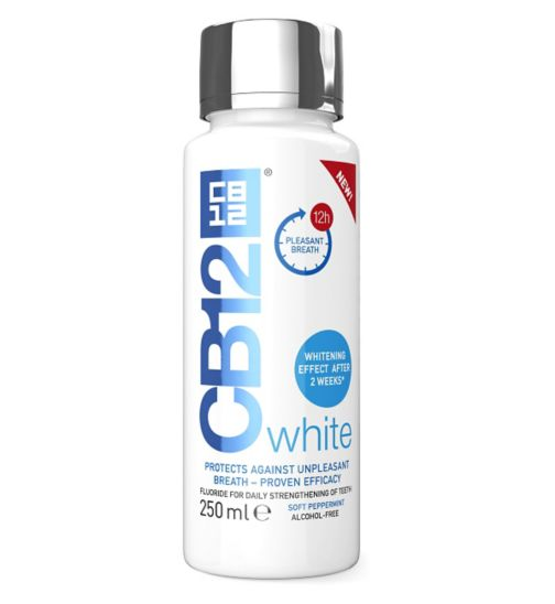 CB12 Whitening Mouthwash 250ml
