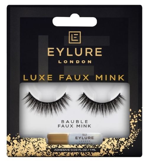 Eylure Luxe Collection Lashes - Bauble (Mink effect)
