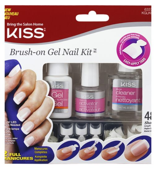 KISS Brush-On Gel Nail Kit