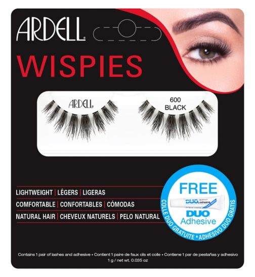 Ardell Wispies Cluster lashes 600 Black