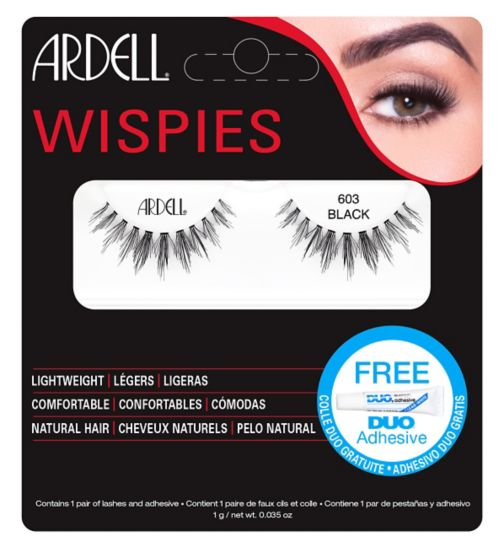 Ardell Wispies Cluster lashes 603 Black