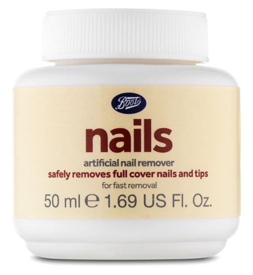 Boots Artificial Nail Remover Pot 50pads